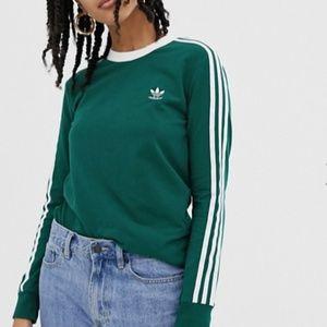 adidas Originals adicolor three stripe long sleeve